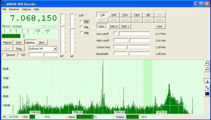 SDR SoftRock Receiver - PA3ANG - Dutch Ham Radio Station