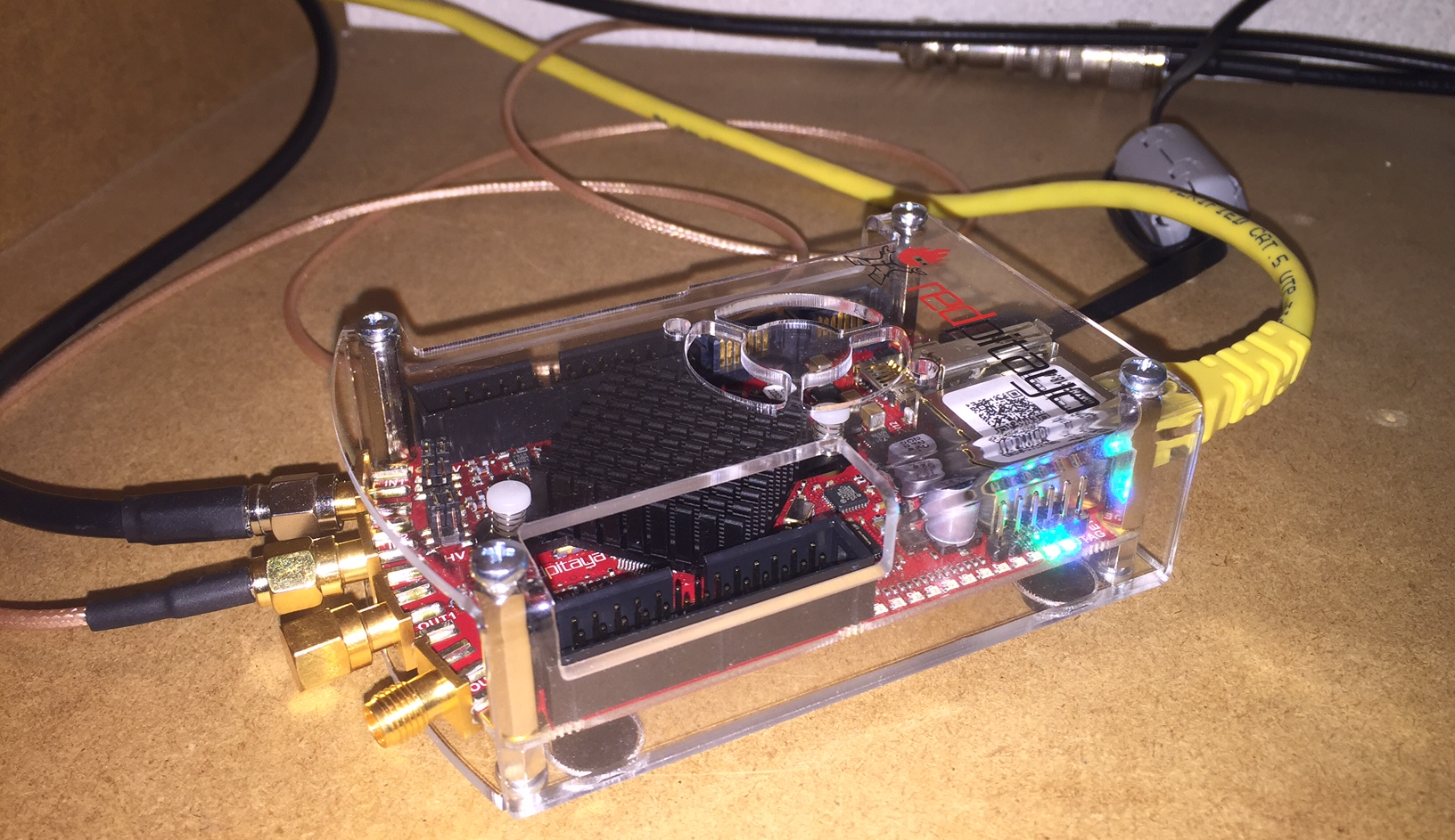 Red Pitaya - SDR Transceiver - PA3ANG - Dutch Ham Radio Station - Weblog